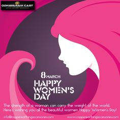 You are the joy of every home and every heart. Remember that happiness is not complete in your absence. #HappyWomansDay #HappyInternationalWomanDay #8MarchWomansDay