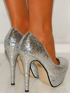 1000  images about Shoes on Pinterest  Sparkly high heels