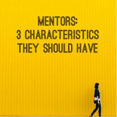3 Tips On Working Picking A Good #Mentor – By Marney Reid. There has been a lot of talk about mentorship lately. How to work with one, what their role is, and how much work the mentee does during the road to success.  Below are three characteristics that a mentor shuld have. #business #CareerAdvice #Mentoring