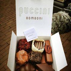 Als je zondigt, moet je het ook goed doen. Als je in Amsterdam bent, hier zeker een doosje inslaan: Puccini Bomboni. (Wel prijzig)