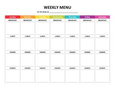 007 Meal Plan Template Word Weekly Menu Planner Fresh Of ~ Tinypetition pertaining to Weekly Meal Planner Template Word - Template Ideas Menu Planning Template, Weekly Meal Planner Template, Menu Template Word, Weekly Menu Planners, Timetable Template, Binder Planner, Arc Planner, Menu Templates, Planning Budget