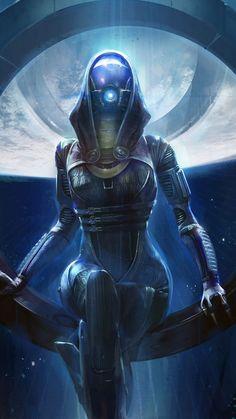 Tali'Zorah - Mass Effect