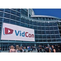 The amazing VidCon sign❤️❤️❤️