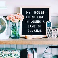 You can use your letter board to display a funny quote and bring personality to your home. Here are the best funny letterboard quotes! Word Board, Quote Board, Message Board, Quote Wall, Felt Letter Board, Felt Letters, Home Poster, Me Quotes, Quotes To Live By