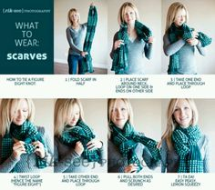 Scarf knot!