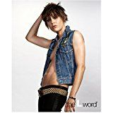 #USAshopping #10: The L Word Katherine Moennig as Shane McCutcheon in Denim Jacket Exposed Stomach and Breast Side Shot 8 x 10 inch photo