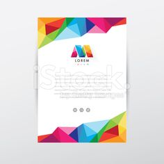 Find Vector Flyer Design Template Letterhead Colorful stock images in HD and millions of other royalty-free stock photos, illustrations and vectors in the Shutterstock collection. Flugblatt Design, Cover Design, Business Cards Layout, Business Card Design, Graphic Design Layouts, Brochure Design, Letterhead Design Inspiration, Letterhead Paper, Mises En Page Design Graphique