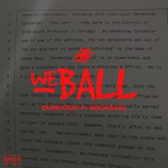 Lil Durk - We Ball (Remix) (ft. Booka600) [Single] @lildurk [COVER] https://www.hiphop-spirit.com/son/lil-durk-we-ball-remix-ft-booka600/16968