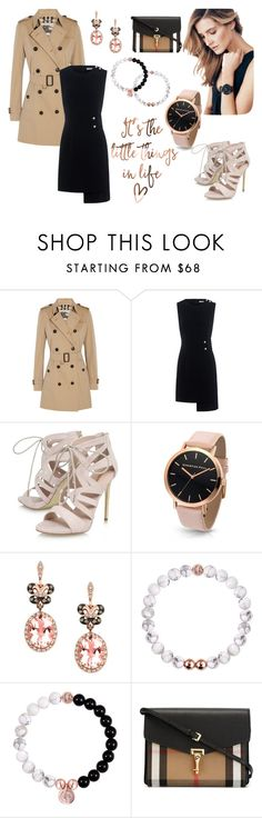 """""""Fall with Christian Paul"""" by tainted-scars ❤ liked on Polyvore featuring Burberry, Finders Keepers, Carvela, Effy Jewelry and christianpaul"""