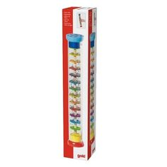 Deszczowa grzechotka kolorowa - Zabawka edukacyjna