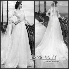 Find More Wedding Dresses Information about Free Shipping Off Shoulder Half Sleeve Lace Low Back Cheap Wedding Dresses,High Quality wedding dress corset ribbon,China wedding dress organza Suppliers, Cheap dress straight from 100% Love Wedding Dress & Evening Dress Factory on Aliexpress.com