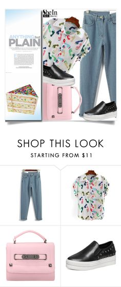 """Shein 1"" by aida-banjic ❤ liked on Polyvore featuring vintage and shein"