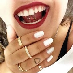 47 small tattoo ideas for women. The best tattoo designs, tattoo meanings, celebrity tattoos, tattoo placement ideas, and short tattoo quotes for girls. Heart Tattoo On Finger, Finger Tattoo For Women, Small Finger Tattoos, Best Tattoos For Women, Trendy Tattoos, Small Tattoos, Girly Tattoos, Finger Heart, Womens Finger Tattoos