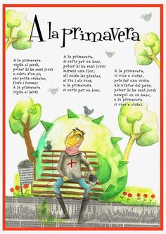 Poema de sant Jordi Spring Activities, Activities For Kids, School Parties, Home Schooling, Nursery Rhymes, Spanish, Mary, Weather, Education