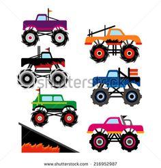 stock-vector-big-monster-trucks-216952987.jpg (450×470)
