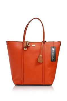 95c38c460c -Dolce  amp  Gabbana- Tangerine Orange Shoulder Tote  D amp G  Handbags