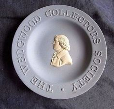 """Vintage """" The Wedgwood Collector's Society """" Collectible Plate Made England  #Wedgwood"""