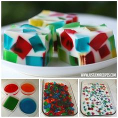 Stained Glass Jello Christmas Wreath Recipe   The WHOot