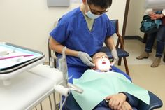 National children's dental health month: a trip to the dentist Dental Kids, Children's Dental, Sedation Dentistry, Dental Health Month, Dental Procedures, India People, United States Army, Teeth Cleaning, Baby Strollers