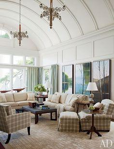 Mariette Himes Gomez Decorates a Mansion on Long Island Photos   Architectural Digest