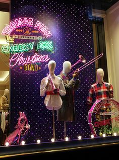 """Thomas Pink presents """"Cheeky Fox Christmas Band"""",performing there Christmas Classics, pinned by Ton van der Veer"""