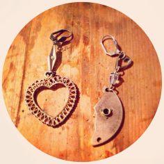 """new series """"true love takes time"""" http://www.lemoderntrinket.com #handmade #lemoderntrinket #recycle #vintage"""