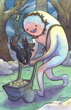 Adventure Time Fire wolf and Snow Gollem fanart Cartoon Adventure Time, Adventure Time Finn, Adventure Time Princesses, Adventure Time Drawings, Adventure Time Characters, Cartoon Network, Abenteuerzeit Mit Finn Und Jake, Finn Jake, Adveture Time