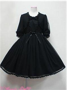 angelic pretty jsk in black