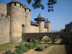 Roussillon France, France 4, 12th Century, Barcelona, Mansions, House Styles, World, Castles, Travel