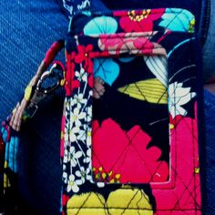 Vera Bradley All-in-One wallet! Got mine today and I'm in love