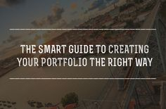 The Smart Guide to Creating Your Portfolio the Right Way | Photodoto