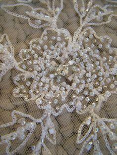 Kate Moss style wedding veil vintage style by RetroVintageWeddings,
