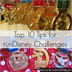 runDisney Challenges are becoming extremely popular! Here are our top 10 tips for training, preparing and experiencing these magical challenges! www.runnersguidet...