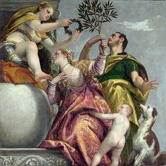 Paolo Veronese - Four Allegories Of Love - Happy Union [c.1575]