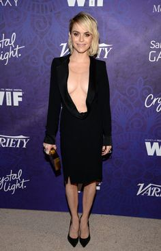 Pin for Later: Stars Kick Off the Emmy Celebrations!  Taryn Manning showed skin on Saturday.