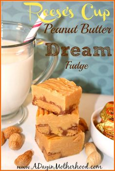 This super easy recipe will make your mouth water with Reese's Cup Peanut Butter Fudge!