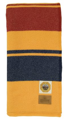 Pendleton Yellowstone National Park Blanket -- Henry has this blanket.  His favorite color is yellow.