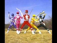 Power Rangers by Sandy e Junior