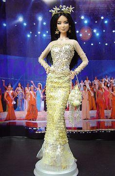 NiniMomo's Miss Tahiti 2007/2008