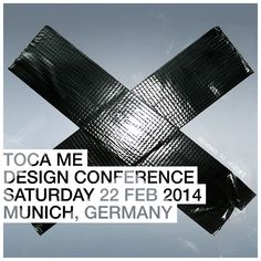 TOCA ME 2014 #design #conference #event #festival #tocame #munich #art