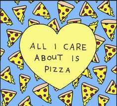 I. Love. Pizza. : theBERRY