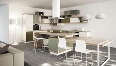 Salone del Mobile 2012 Milano: Foodshelf, la cucina firmata da Ora-ïto per Scavolini #MDW12