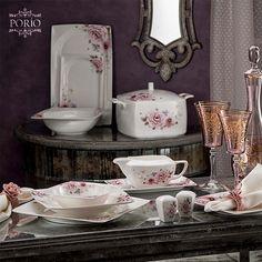 Gerçek aşk ile buluşan modern desenler.  #porio #porselen #desen #aşk #modern #love