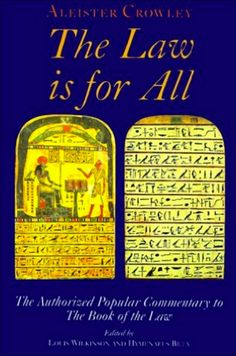 Aleister-Crowley-books - The-Law-Is-for-All