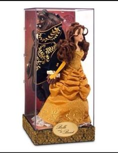 Disney Store Fairytale Designer Doll Belle the Beast Beauty Sold Out #230
