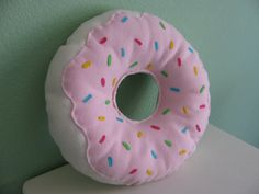 Items similar to Large Donut Pillow on Etsy