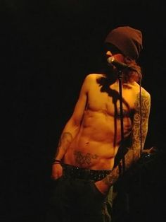 Ville Valo from H.I.M.!