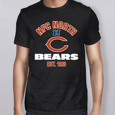 c3633a557 Chicago Bears NFC North Champions 2018 Shirt