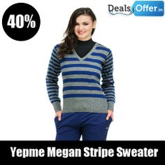 Yepme Megan Stripe Sweater @ 719