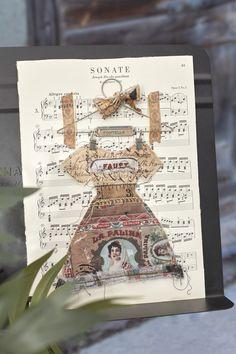 Eclectic Elements fabric: Dapper Dress Mini Wall Hanging